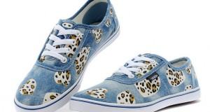 Lovely-VANS-AUTHENTIC-Denim-Leopard-Print-Womens-Sneakers-Blue-GN136742