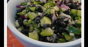 Cool Cucumber and Black Bean Summer Salad