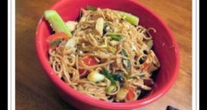 Tuna With Wasabi Noodles
