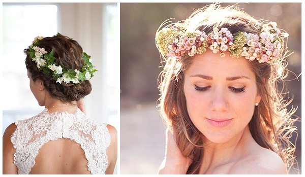 Stylish ways of floral wedding hairstyles for pretty bride – What ...