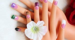 glitter-nails