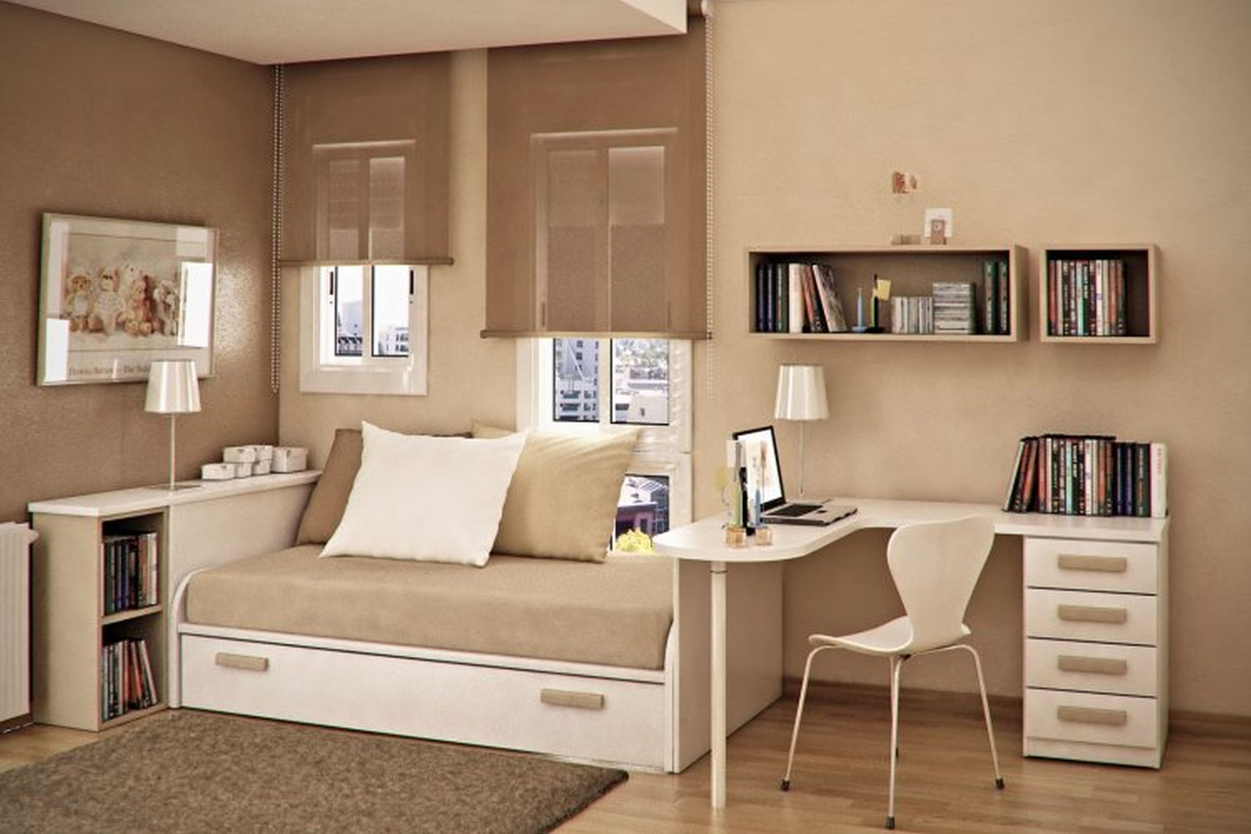 Bedroom Guest Ideas Modern Ewer White Flowers Sofa Bed. Spare Bedroom Sofa Bed Ideas   Bedroom biji us