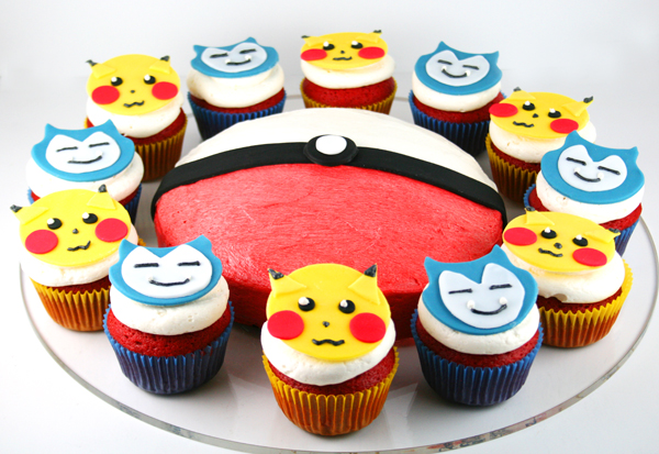 Awesome Recipe Of Pokemon Cupcake For Your Kids What