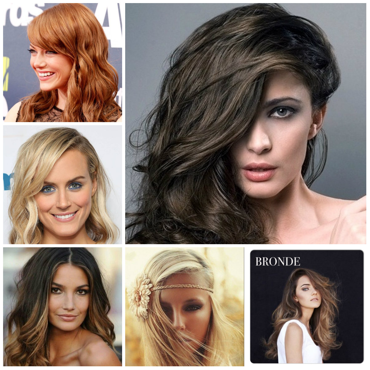 Hair Color Pictures 2016