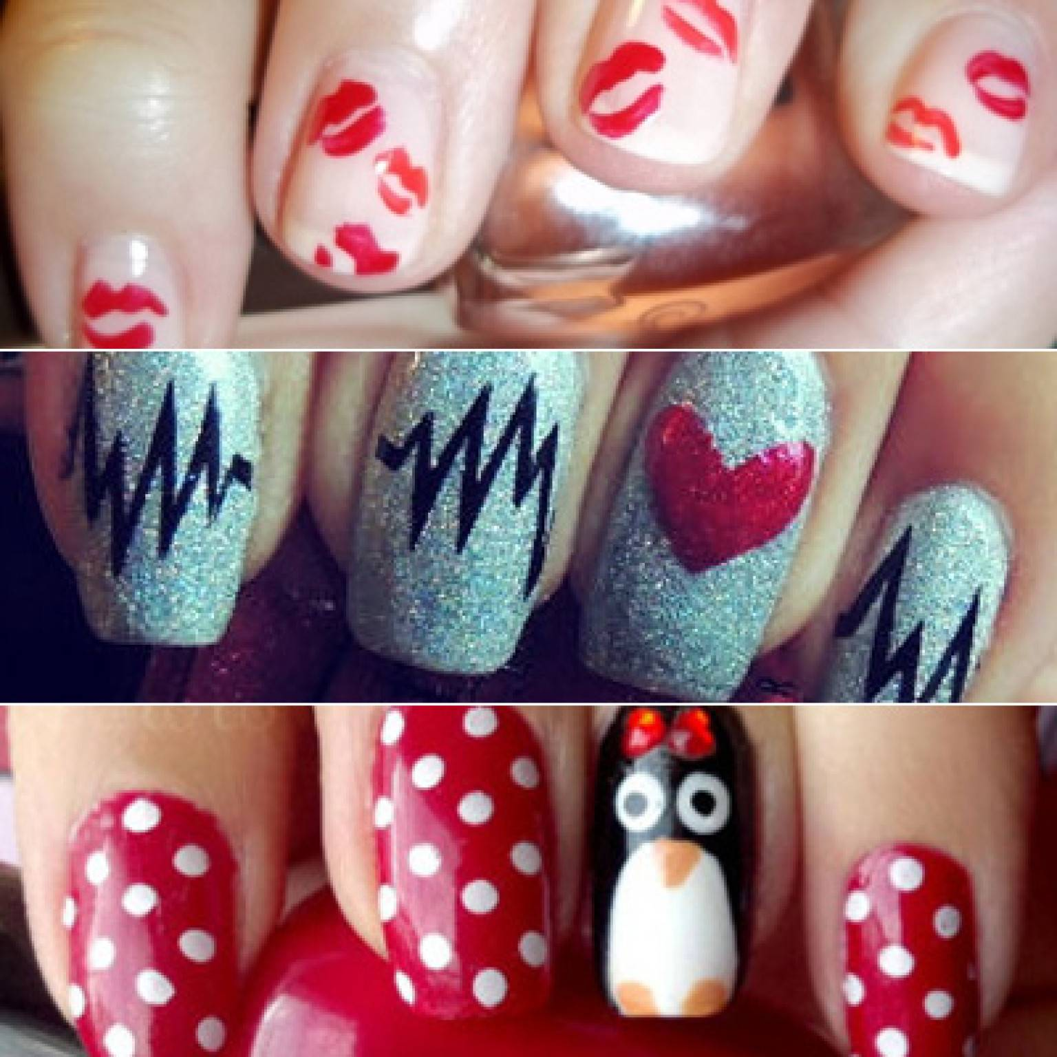 20 Trendy Valentine\' day nail art ideas – What Woman Needs
